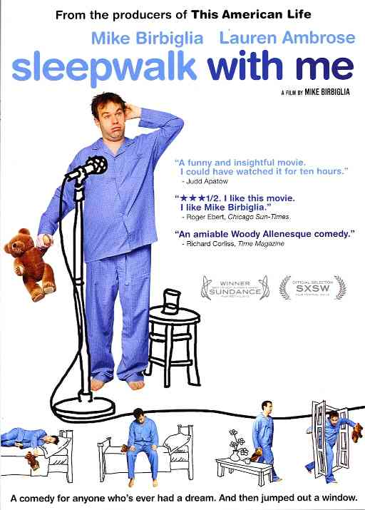 SLEEPWALK WITH ME BY BIRBIGLIA,MIKE (DVD)
